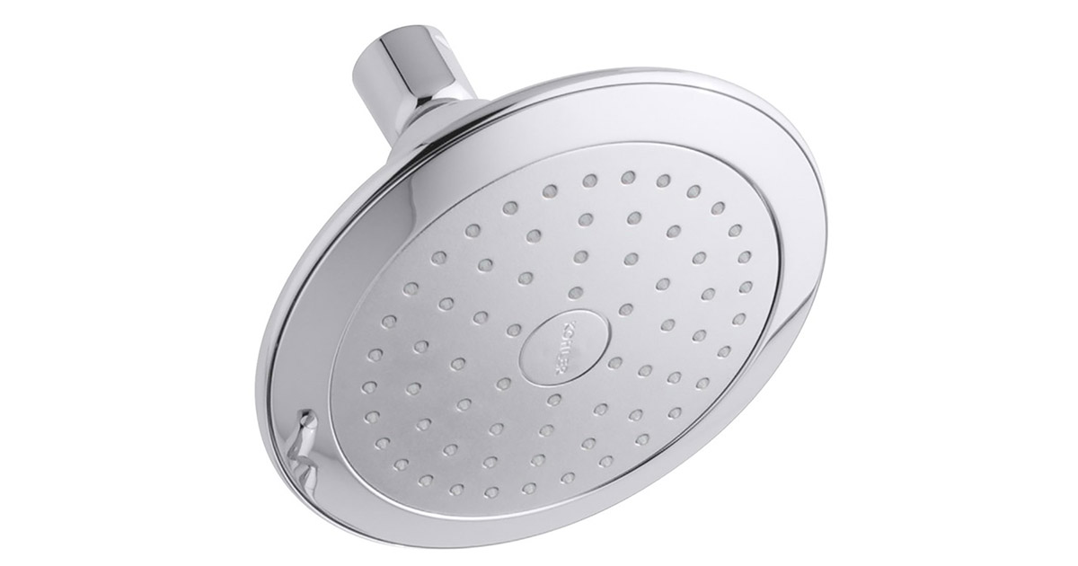 KOHLERK 45123CP Alteo 2.5 GPM Single Function Wall Mount Polished Chrome Showerhead image