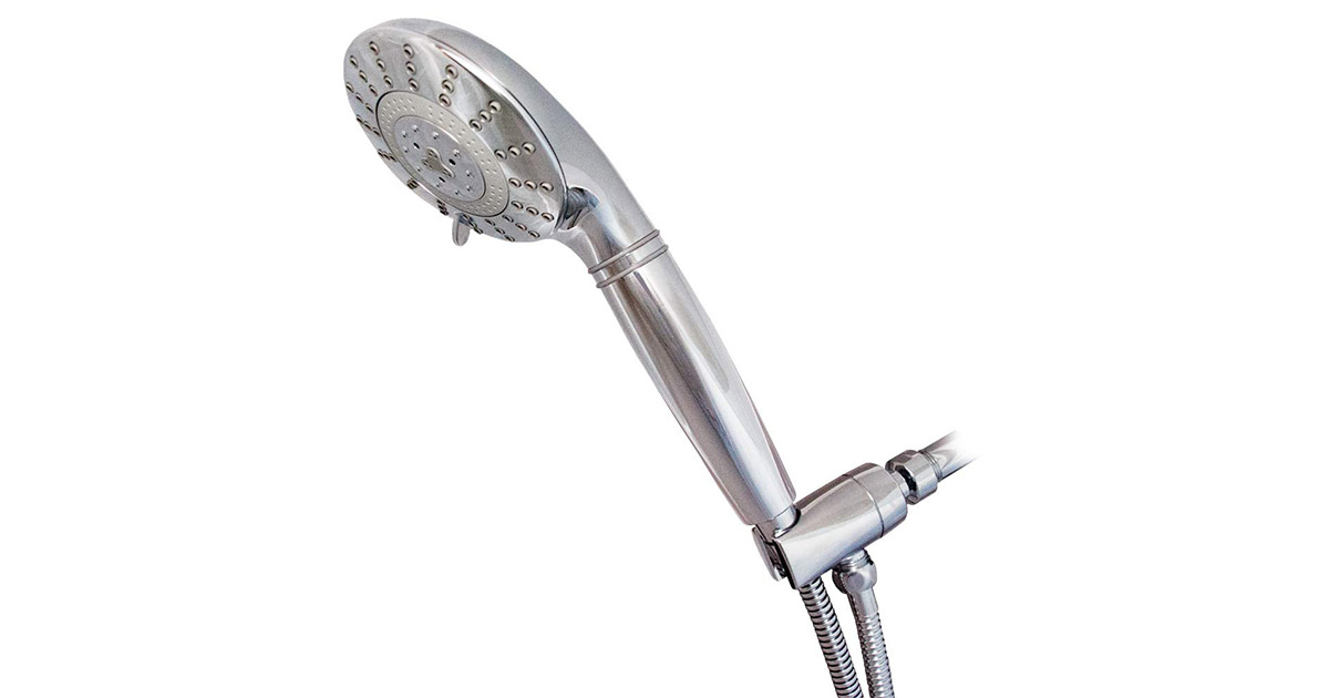 Sprite HE7CM Hand Held Pure 7 Setting Chrome Shower Filter image