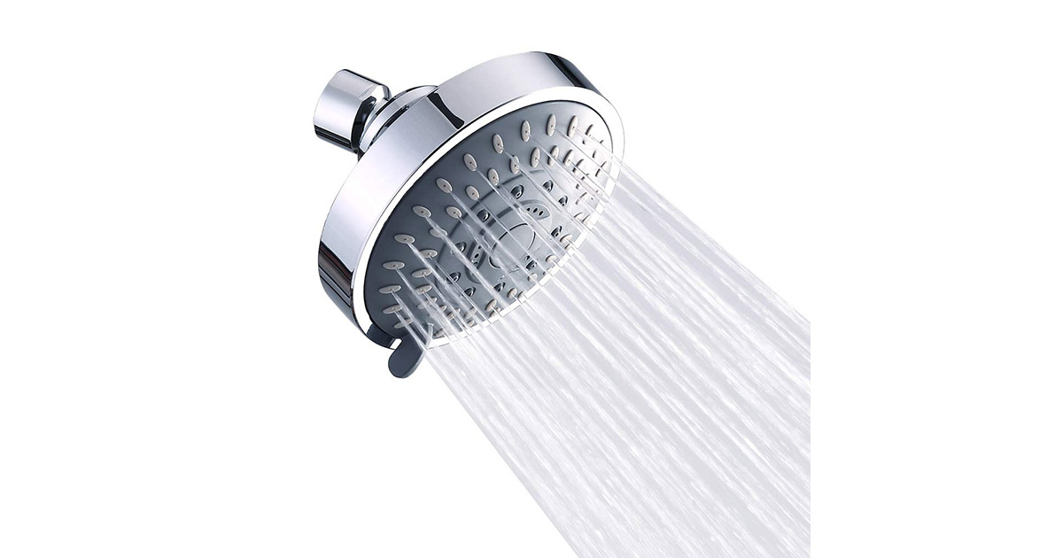 Aisoso 8541794144 High Pressure Rain Fixed Shower Head image