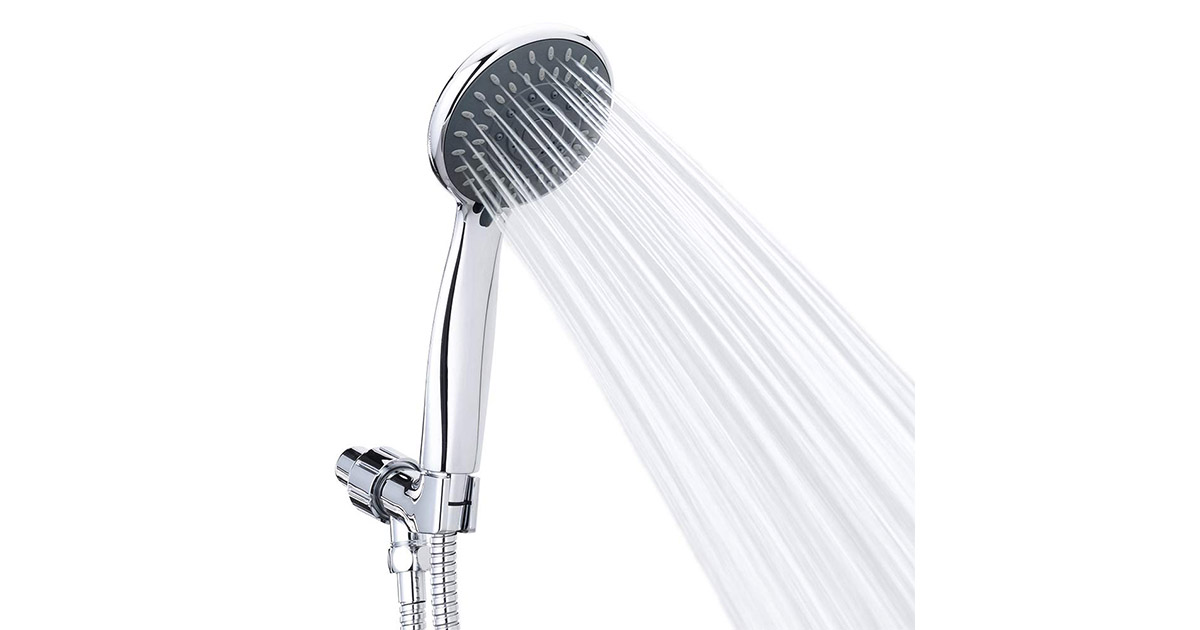 Briout 8541794725 Handheld High Pressure Shower Head image