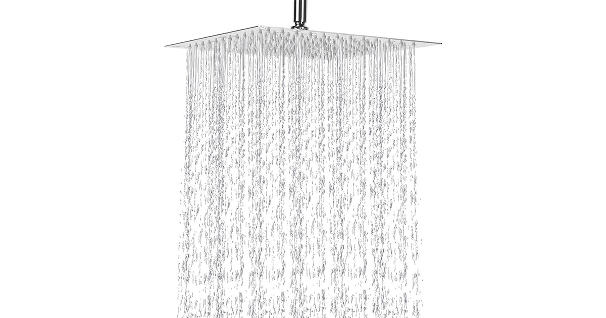NearMoon 12 Inch Rain High Pressure Stainless Steel Shower Head image