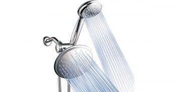DreamSpa 1432 3-way 8-Setting Rainfall Chrome Shower Head image