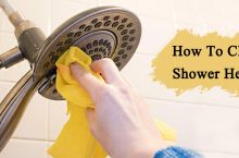 How To Remove Hard Water Stains From Shower Head?