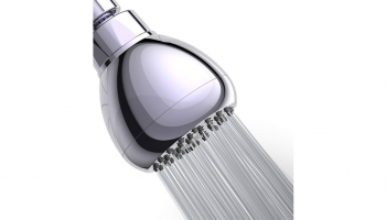 Wassa 3-inch High Pressure Shower Head – Compact yet powerful with high-quality material!