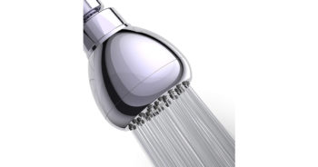 WASSA High Pressure Shower Head 3-Inch Anti leak Fixed Chrome Showerhead image